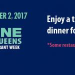 Queens Restaurant Week Oct 16-Nov 2