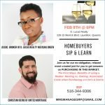 Homebuyers Sip & Learn Thursday, Feb 8th @ 6pm
